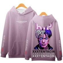 Harajuku Rap Singer Print Hoodies Men Hip Hop Casual Pullover Hooded Sweatshirts Streetwear 2019 Fashion Tops Unisex XS-4XL