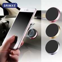 Car-Phone-Holder Magnet-Mobile-Support Dash-Board Magnetic for Air-Vent Portable