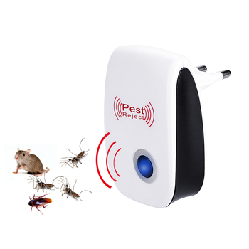 US Plug Electronic Mosquito Repellent Indoor Cockroach Mosquito Insect Killer Rodent Contro Ultrasonic Pest Repeller useful ultrasonic electronicrepeller new white riddex plus electronic pest rodent control eepeller 220v