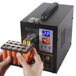 SUNKKO 737G batterij spot lasser 1.5kw precisie pulse spot lasser led licht lassen machine gebruikt 18650 batterij spot lassers