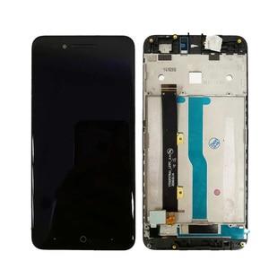 """Image 2 - 5 """"LCD עם מסגרת עבור ZTE להב A612 BA612 LCD תצוגת מסך מגע חיישן Digitizer עצרת A612 מלא תצוגה החלפה"""
