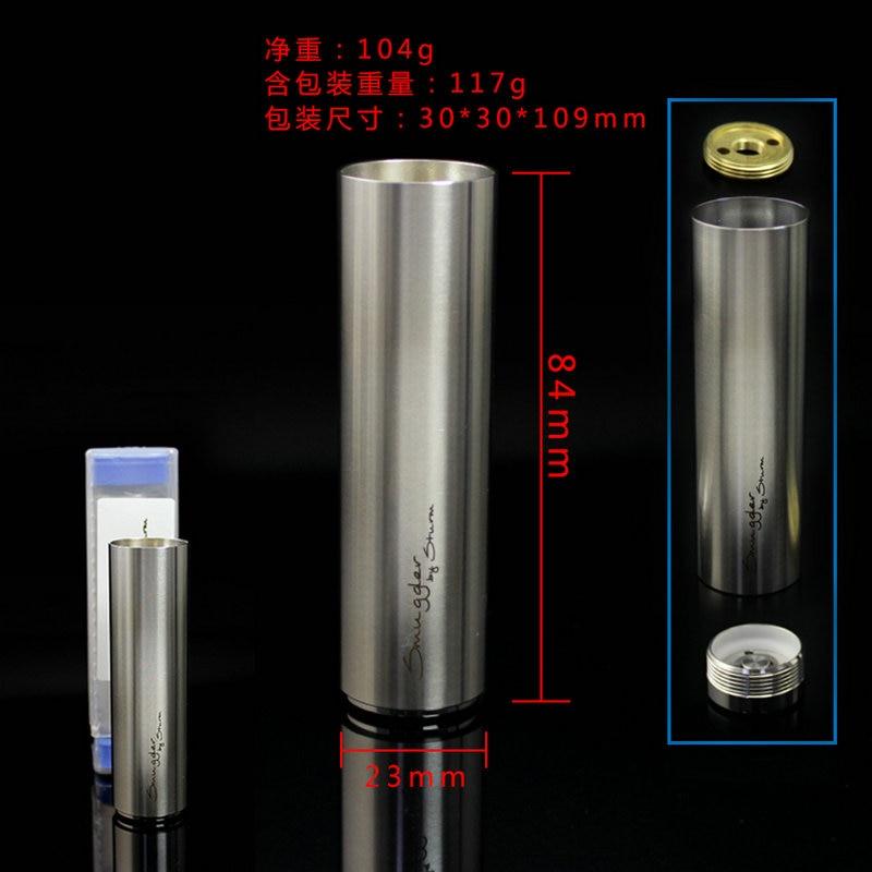 SXK Smuggler Mech Mod Sturm Mods Mech Tube 22mm Compatible With 18650 Battery Vape Mod