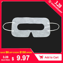 Universal 100PCS white Protective Hygiene Eye pad Face Mask pads for HTC Vive for PlayStation 3D Virtual Reality Glasses(China)