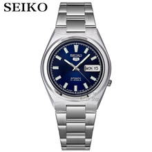 Men's Watch Dial Automatic Blue Made-In-Japan Seiko-5 SNKC51J1 Stainless-Steel