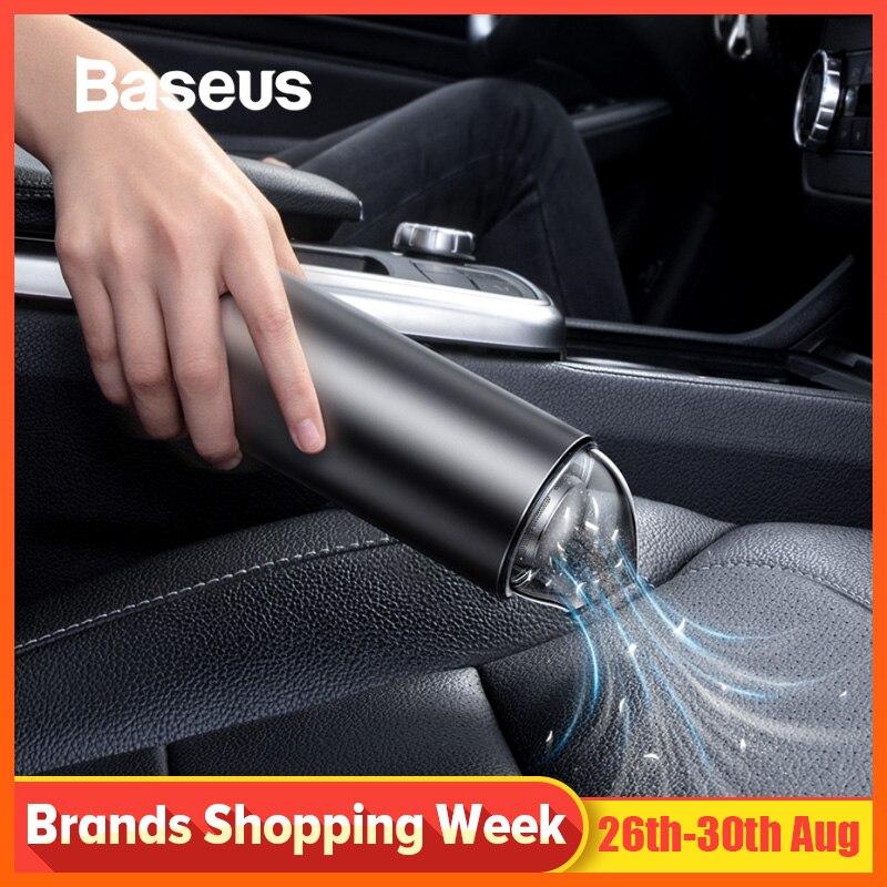 Aspirateur de voiture Portable Baseus sans fil Portable 4000Pa nettoyeur d'intérieur de voiture automatique maison Mini aspirateur