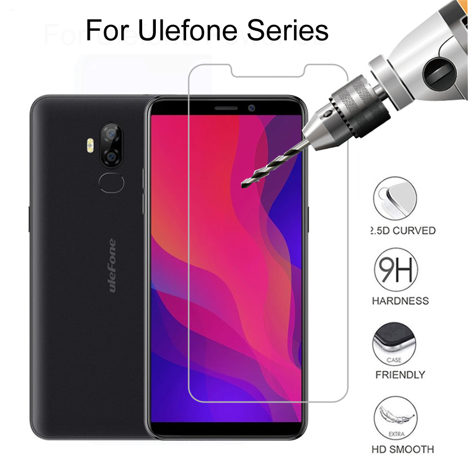 9H Tempered Glass For <font><b>Ulefone</b></font> Armor 6 7 Note 7 Explosion Proof <font><b>Screen</b></font> Protector On <font><b>Ulefone</b></font> <font><b>Power</b></font> 6 <font><b>5</b></font> 3 3S Protective Film Glass image