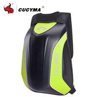 CUCYMA Motorcycle Bag Waterproof Motorcycle Backpack Carbon Fiber Motocross Racing Riding Helmet Bag Motorbike  Backpack #