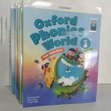 Oxford-10 libros de fonética mundial para niños, cuento de aprendizaje inglés, libro de aprendizaje temprano, libro de trabajo, juguetes educativos