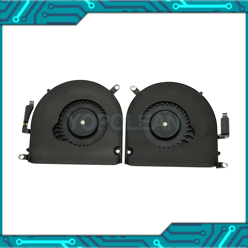 Original Left + Right CPU Cooling Fan For MacBook Pro Retina 15 A1398 Mid 2012 Early 2013 Years