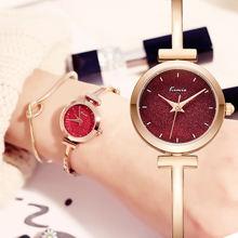 Часы женские с браслетом из розового золота 2020