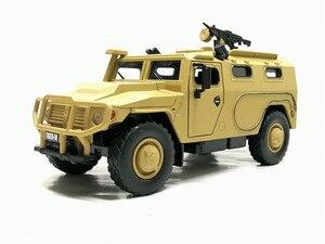 Image 4 - จำลอง1:32ล้อแม็กเลื่อนรัสเซียรถหุ้มเกราะป้องกันการระเบิดทหารรุ่นSound Lightรถเด็กของเล่น