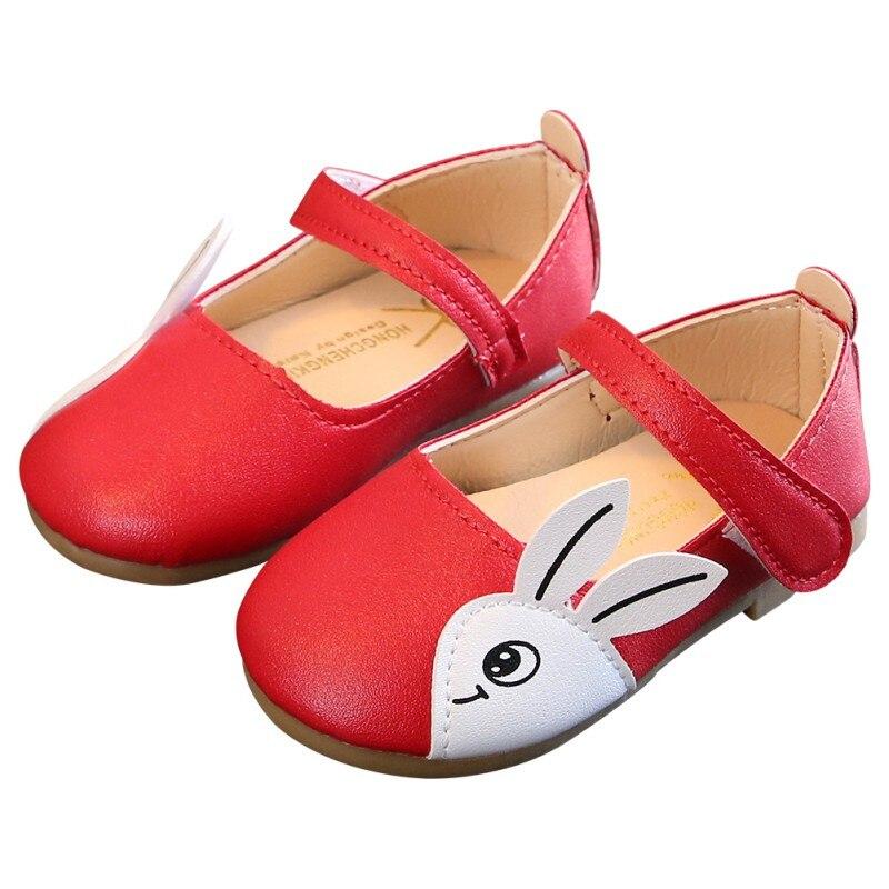 Newborn Summer Baby Shoes Kid Boy Girl Rabbit Head PU First Walker Anti-slip Soft Sole Toddler Sneaker