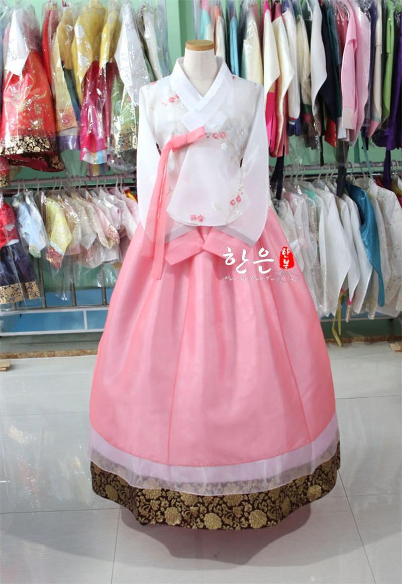Korea Imported Fabric / New Improved Hanbok / Bride High-end Hanbok
