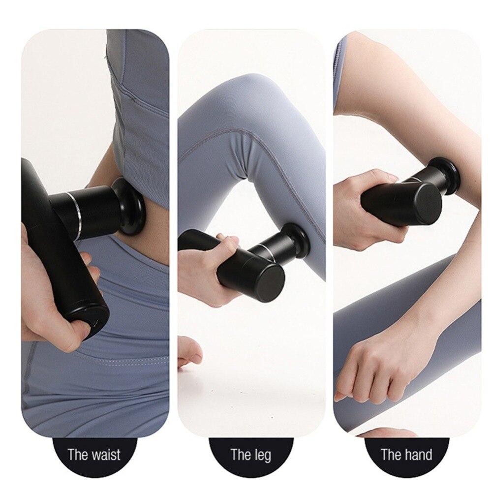 Arma de massagem eletrônica massageador corpo profissional