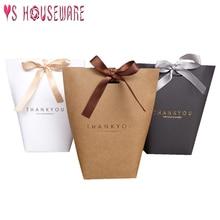 5 шт. Merci спасибо черный белый бронзированный мешок конфеты спасибо Свадебные сувениры Подарочная коробка посылка подарок на день рождения