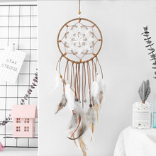 Scandinavian Style handicraft Dream Catcher Ethnic Feather DreamCatcher Home Wall wedding Art Hangings Decoration Gift Pendant