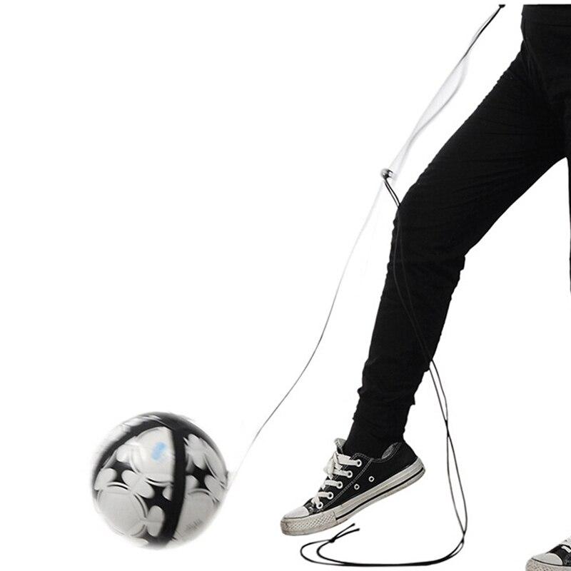 Игрушечный футбольный мяч, кик-тренажер, навыки, сольный футбольный тренажер, оборудование, пояс, регулируемый пояс, инструменты для помощи