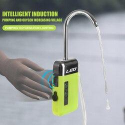 Умный датчик воды и кислорода LEO USB, портативный насос со светодиодной подсветкой и оксигенацией для рыбалки на открытом воздухе