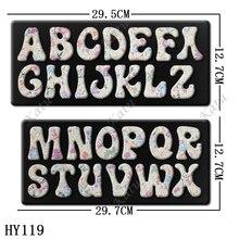 O corte de madeira de 5 cm 26 letras morre apropriado para máquinas comuns do corte no mercado
