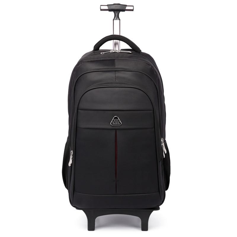 Trolley Backpack Multi-function Nylon Backpack Business Large Capacity Mobile Travel Bag Detachable Waterproof Luggage Bag