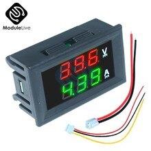 0.56 polegada mini digital voltímetro amperímetro dc 100v 10a painel amp volt tensão atual medidor tester 0.56
