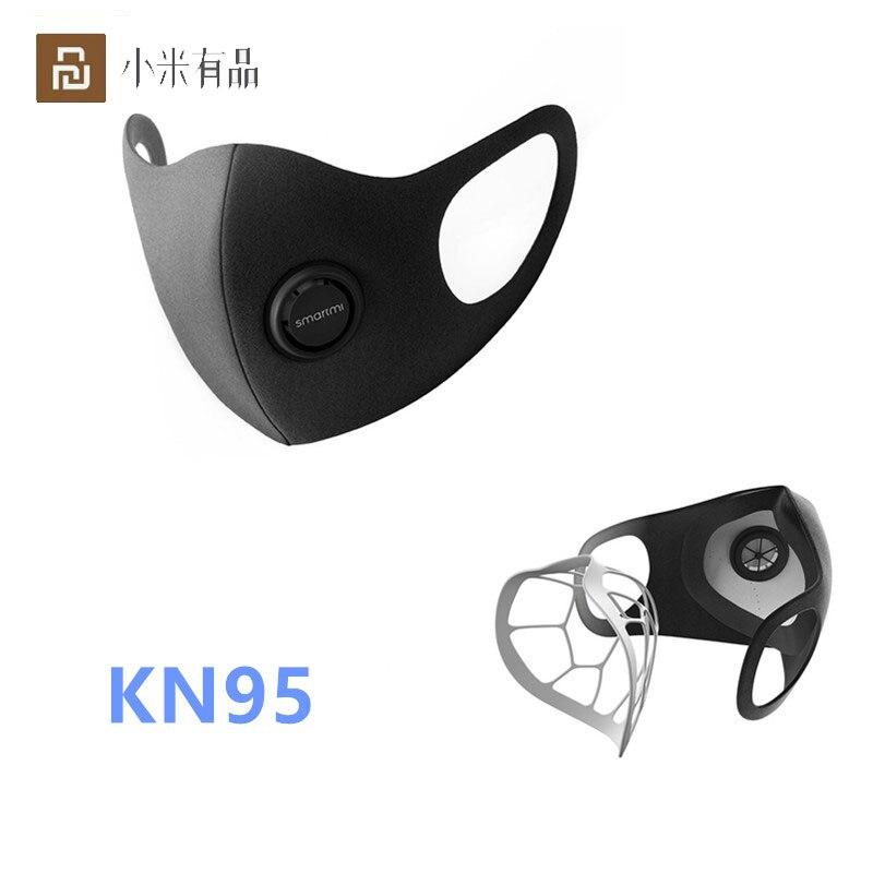 Mijia Youpin Smartmi Anti-Haze KN95 Professional Protective Face Cover Face Mask PM2.5 Haze Mask FFP2 From Youpin