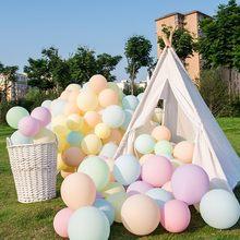 10/20/30 pçs 12 polegada macaron látex balões festa de aniversário casamento hélio ballon pastel doces cor decoração do chuveiro do bebê globos de ar