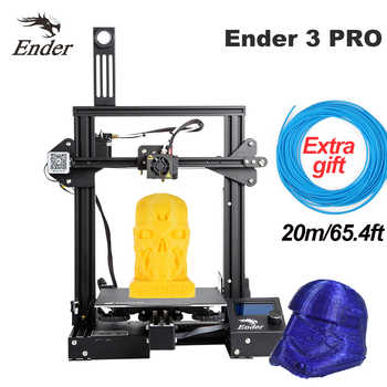 CREALITY 3D Printer Ender 3/Ender-3 pro DIY Kit Large Size I3 3D Ptinter Resume Power Failure Printing MeanWell Power