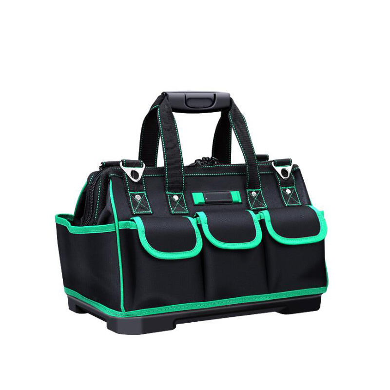Hand Tool Bag Electrician Tools Woodworking Hardware Repair Kit Portable Storage Organizer Work Wrench Toolbox Kit Large Toolbox