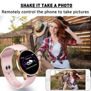 Image 2 - Donne Della Vigilanza di modo di Sport Orologi Elettronici A LED schermo a Colori Delle Signore di Sesso Maschile smart Watch per Android IOS OROLOGIO Femminile Orologio Da Polso