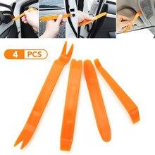 4 pçs/set removedor de remoção extrator pry ferramenta painel da porta do carro guarnição estofos retenção clipe alicate ferramenta mão conjunto