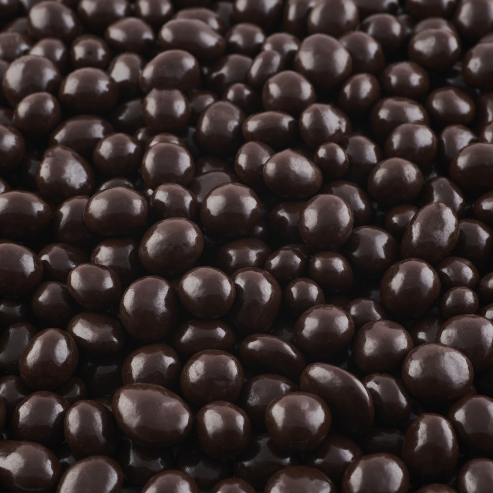 Coconut lacase with black Chocolate · 1Kg.