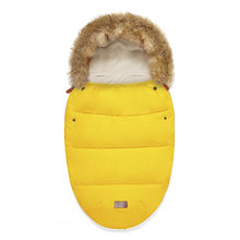 Windproof Baby Sleeping Bag Winter Warm Stroller Sleepsacks Robe For Infant Universel Accessories Sack
