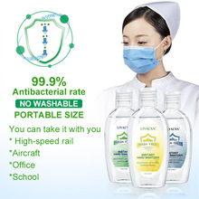 50ML Portable Disposable 75% Alcohol Hand Gel Disinfection Sterilization Hands-Free Water Efficient Disinfection Hand Sanitizer kiehl s 75 50ml