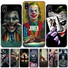 Mroczny rycerz Joker Karta miękka Tpu krzemu skrzynka dla Coque Xiaomi Mi A1 A2 Mi 8 Pro Redmi K20 Pro 4X 5 Plus uwaga 8 7 4 4X 5 6 Pro