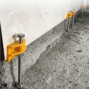 Image 3 - 10 шт. ручной локатор для плитки, регулятор для настенной плитки, регулировка высоты, позиционер, выравниватель, керамическая резьба, инструмент для строительства
