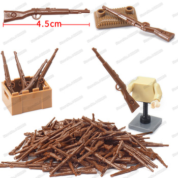 Military WW2 Combat Soldier Rifle Building Block Army Equipment Moc Special Forces Army Figures Battlefield Model Child Gift Toy military figures maxine heavy machine gun weapons building block equipment diy ww2 army battlefield model moc christmas gift toy