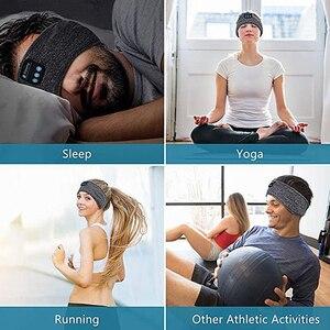 Беспроводные Bluetooth-наушники, головная повязка, спортивные наушники для йоги, фитнеса, бега, пешего туризма, стереогарнитура для сна, головной платок, музыкальная повязка на голову