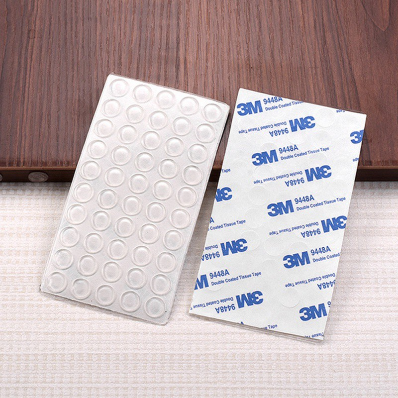 Feet Bumper Pads Adhesive Transparent Buffer Pads Cabinet Door Bumpers Stick Anti-noise Pads Home Silencer