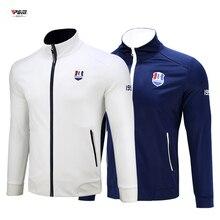 Брендовая одежда для мужчин водонепроницаемый пальто жилет ветровки высокое качество с длинным рукавом Гольф Настольный Теннис Спортивная одежда фитнес