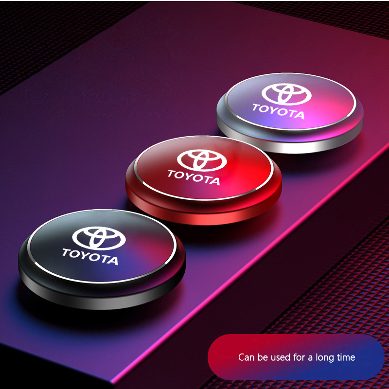 Car Air Freshener Instrument Seat Aromatherapy Flavor Perfume UFO Shape for Toyota TRD camry chr corolla rav4 yaris prius prado