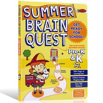 Brain Quest  workbook kindergarten children puzzle workbook kindergarten learning English preschool