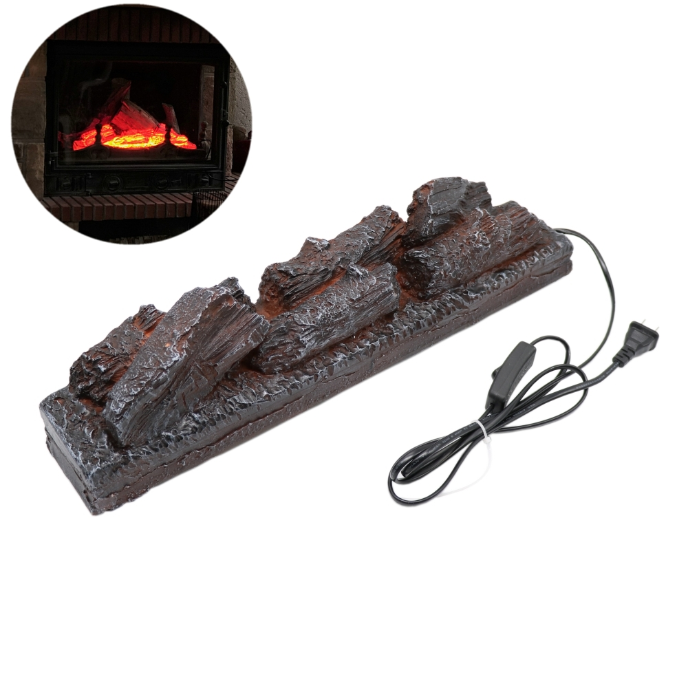 Electric Simulation Charcoal Fake Firewood Charcoal Fire Decoration Charcoal Flame Lamp Fireplace Firewood Props Decoration