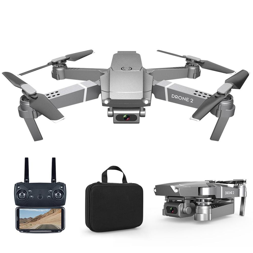 Folding Drone 720p-Camera E68 6-Axis-Gyroscope with Four-channel/6-axis-gyroscope/Gesture/.. title=