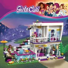760Pcs Pop Star Livi 'S Huis Bouwsteen Compatibel Legoinglys Vrienden Voor Meisjes Cijfers Bricks Educatief Speelgoed Voor Kinderen