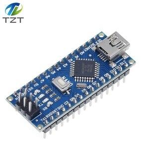 Image 3 - 10 pièces Nano 3.0 contrôleur compatible avec Arduino nano CH340 pilote USB pas de câble NANO V3.0