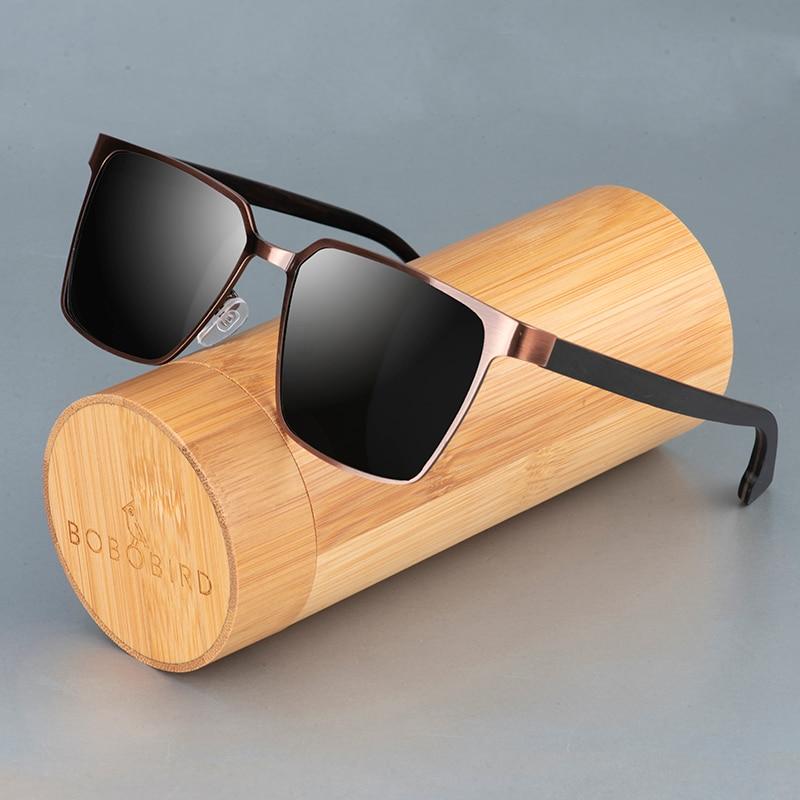 BOBO BIRD Wood Sunglasses Women Men Polarized Sun Glasses Gafas De Sol Mujer Ladies UV400 Eyewear In Gift Box Dropshipping
