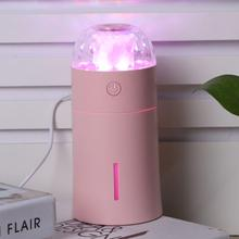 175ml USB Ultrasonic Air Humidifier Aroma Essential Oil Diffuser Fogger Mist Maker with 7 colors LED Night Light for Home Office 2017 new minions humidifier usb ultrasonic essential oil diffuser difusor de aroma with night light mist maker fogger