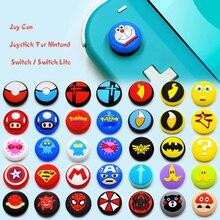 Lovely Cartoon Theme Nintend Thumb Stick Grip Cap Joystick Cover for Nintendo Switch Lite Joy con Controller Thumbstick Case