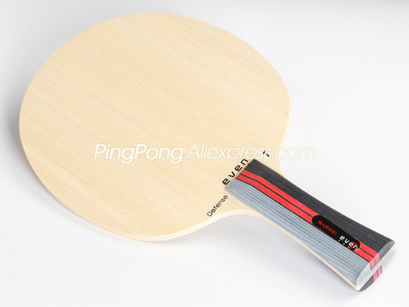 SANWEI EVEN 7 DEFENSE (7 Ply Wood Pips-long / Pips-out Blade) SANWEI Table Tennis Blade Defence Racket Ping Pong Bat / Paddle